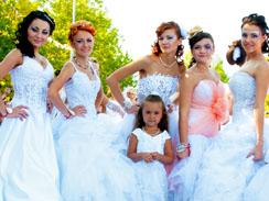 Парад невест в Рыбнице